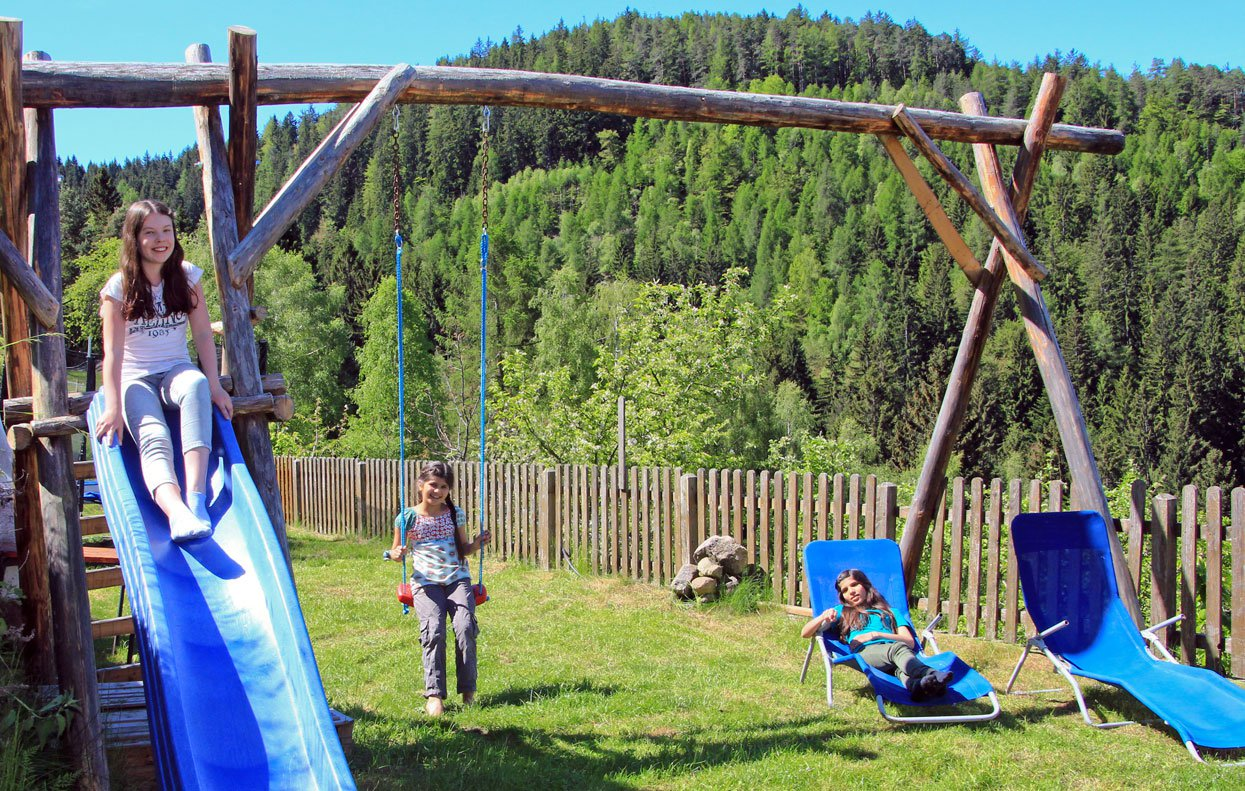 A farm holiday with children at the Waldnerhof makes great fun!