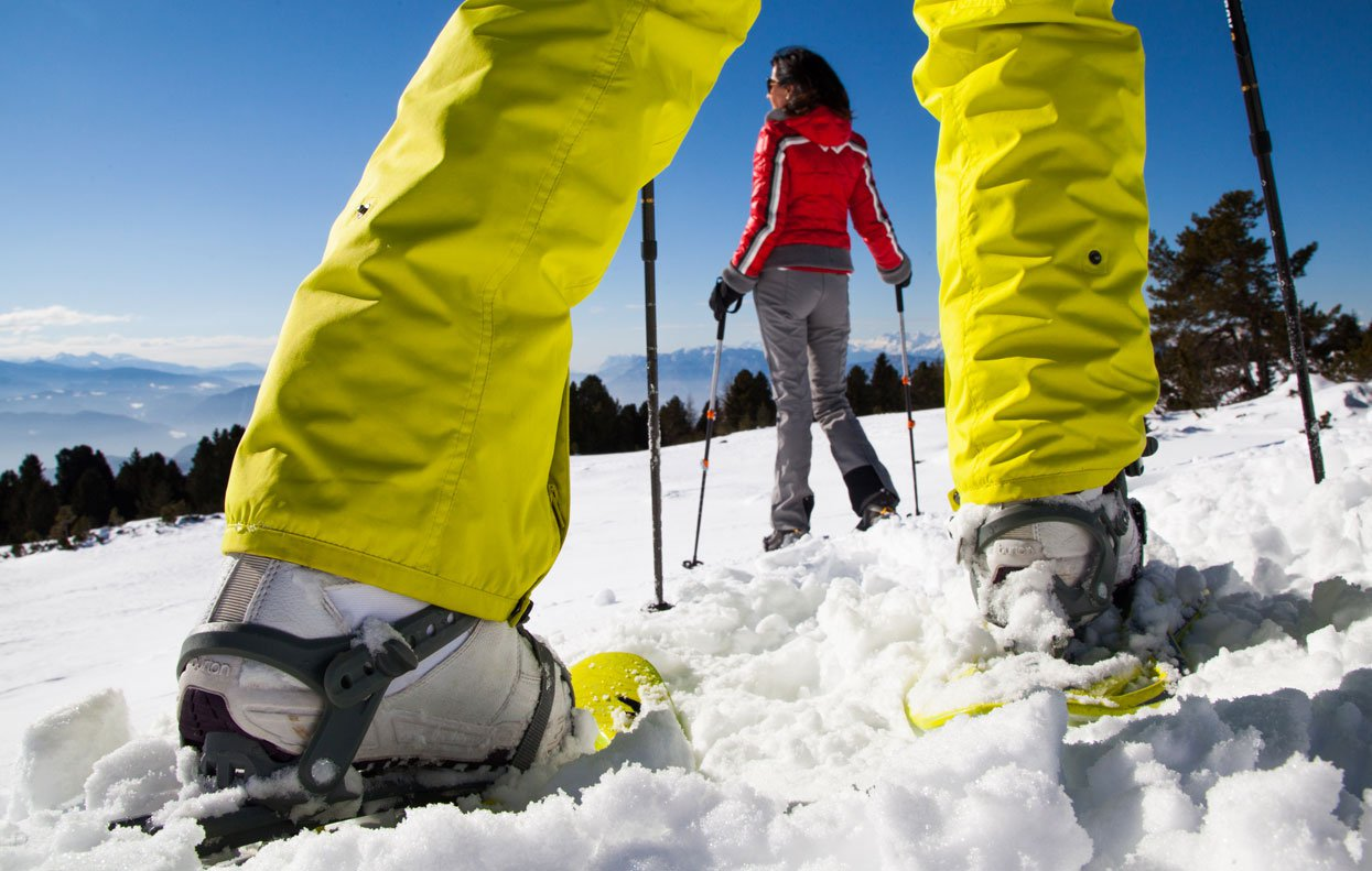 In Oberbozen you will enjoy the winter walking and the snowshoe hiking
